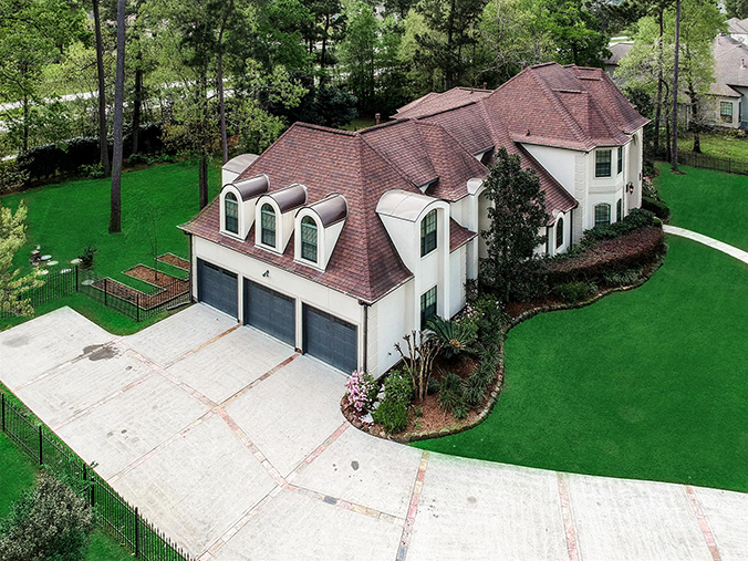 high quality Kingwood, TX aerial / drone photography